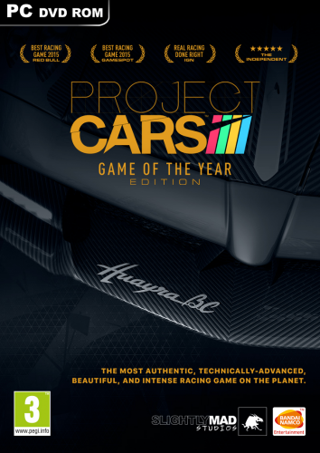 Poster Project CARS: Game of the Year Edition [v 11.2] (2015) PC | RePack от xatab