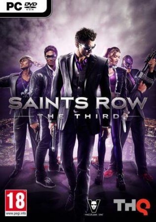 Poster Saints Row: The Third - The Full Package (2011) PC | Repack от xatab