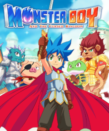 Poster Monster Boy and the Cursed Kingdom (2019) PC | Repack от xatab