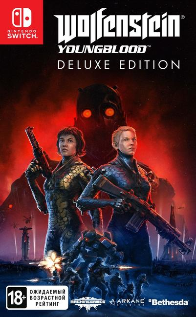 Poster Wolfenstein: Youngblood - Deluxe Edition [v 1.0.3 + DLCs] (2019) PC | Repack от xatab