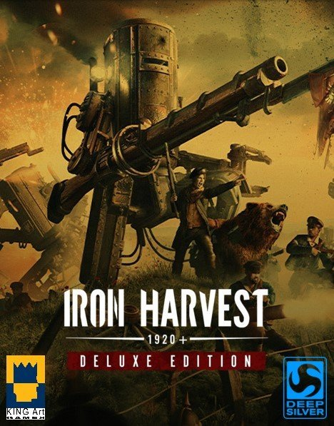 Обложка Iron Harvest - Deluxe Edition v.1.1.6.2181 [GOG] (2020) Лицензия